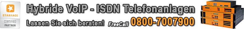 Hybride VoIP - ISDN Telefonanlagen